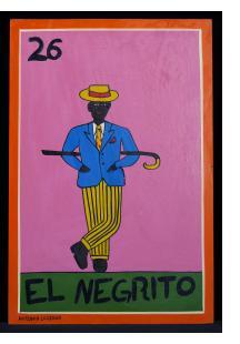 El Negrito - Loteria Card