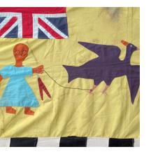 Vintage Asafo Flags from Ghana