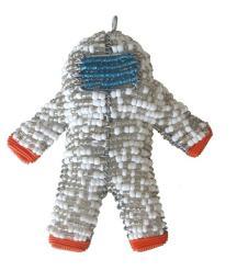 """Major Tom"" Astronaut Ornament"