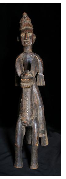 Bamana Equestrian Figure