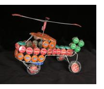 Bottle-cap Helicopter