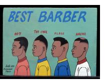 Best Barber - Mini Signboard