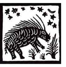 Ikung and Ju/'Hoansi Bushman Linotype Prints