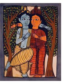 The Eternal Lovers (Radha and Krishna)