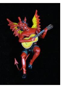 Diablo con Guitarra - Retablo Ornament