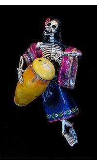 Drummer of the Dead - retablo figure