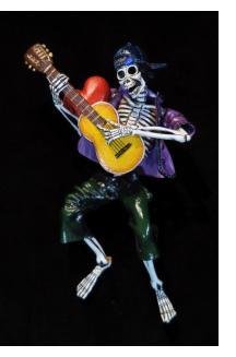 Guitarist of the Dead - retablo figure