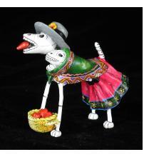 Heart-seller Dog of the Dead - Retablo Figure