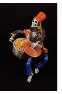 """""""Soup Nazi"""" de los Muertos - Retablo Figure"""