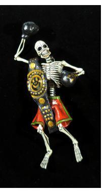 Prize Fighter de los Muertos - Retablo Figure