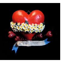 """""""Tu Amor Espero"""" Retablo Heart Ornament"""