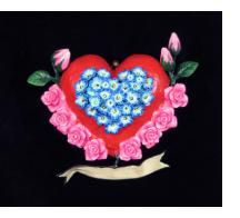 Retablo Heart Ornament