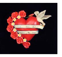 """Hoy Mas Que Nunca Te Amo"" (I love you today more than ever) - Retablo Heart Ornament"