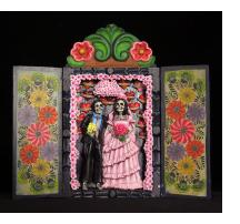 Los Novios Muertos - Wedding Retablo