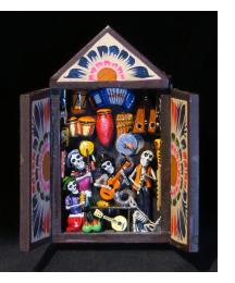 Music Shop of the Dead - Mini-Retablo