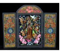 La Virgen de Guadalupe - Retablo