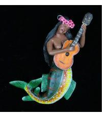 La Sirena con Guitarra - Retablo Ornament