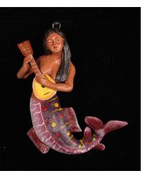 La Sirena (Mermaid) Retablo Ornament