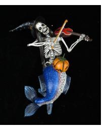 La Sirena Musico - retablo ornament