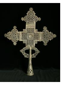Coptic Christian Processional Cross