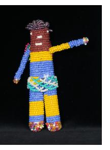 """Beaded """"Angel"""" Doll from Capetown"""