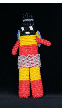 "Beaded ""Angel"" Doll from Capetown"