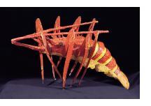 Lobster - Papier Maché Carnival Sculpture