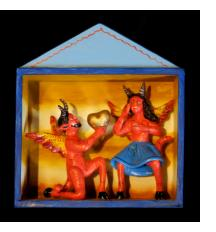 The Devil's Proposal - retablo