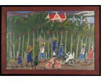 """A Manegre a Droit de la Grande Route Archaie-Saint Marc """"Une Guildive"""""""