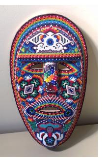 Huichol Beaded Mask