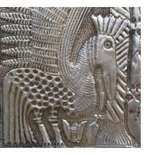 Aluminum Relief Sculptures from Nigeria