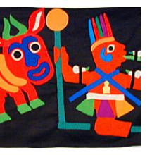 Fon Applique Banners from Benin