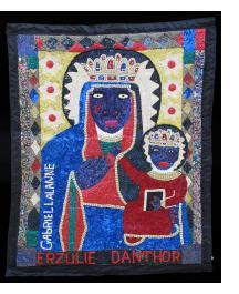 Erzulie Danthor - Vodou Flag