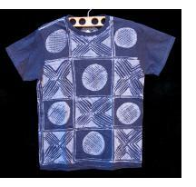 Indigo Batik T-shirt by Gasali Adeyemo