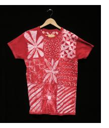Batik T-shirt by Gasali Adeyemo - Medium