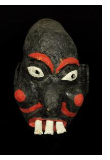 "Vintage ""Chaloska"" Kanaval (Carnival) Mask"