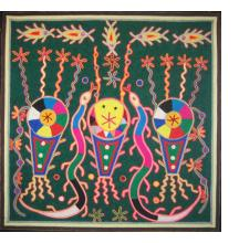 Nierika Yarn Paintings from the Huichol Indians of Mexico