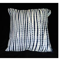 Resist-dyed Indigo Pillow by Aissata Namoko of Mali