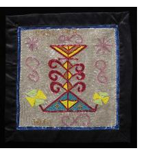 Ogou Fer - Vodou Flag