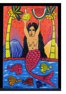 La Sirena con Frutas