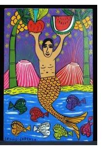 La Sirena con Sandia