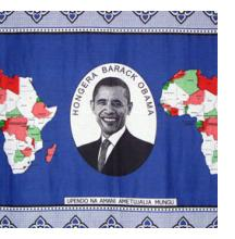 Barack Obama Khanga Cloth from Tanzania