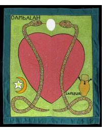 Dambala and Erzulie Vodou Flag