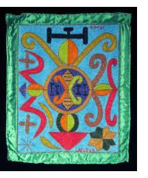 Simbi - Vodou Flag