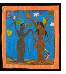 Maitresse et Maitre Grand Bois - Vodou Flag