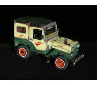 Jeep CJ Taxi Sculpture