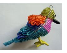 Lilac-Breasted Roller Ornament
