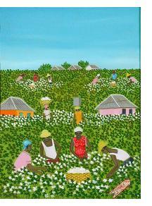 Picking Cotton Michaelle Obin