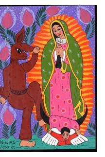 La Virgen y el Conejo Danzando