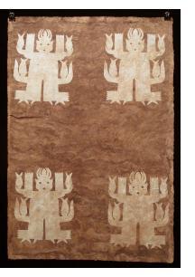 Otomi Amate Paper Spirit Painting - Seed Spirit